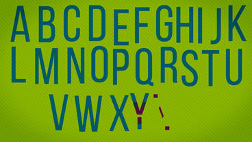 Animated Alphabet Plantilla de After Effects