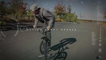 Fast Sport Slide After Effectsテンプレート