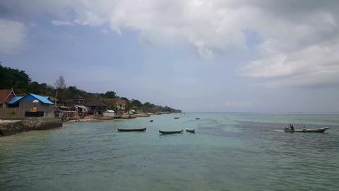 Sanur beach, Bali, Indonesia Footage
