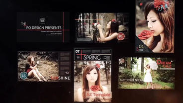 Magazine Reveal After Effects Templates