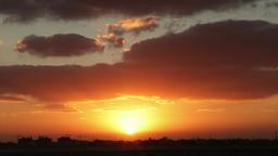 Sunset city in construction skyline 4k timelapse final Camera Footage