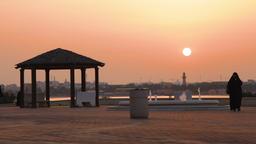 Sunset in Middle East - Bahrain - Timelapse Filmmaterial