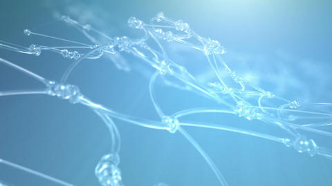 Abstract Nanotech Background Animation
