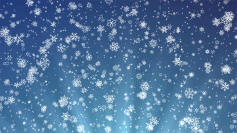 Pretty Snow 4k - Fine Snowflakes - Christmas Video Background Loop Animation
