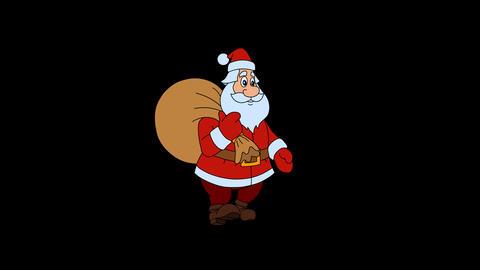Santa Gait Animation