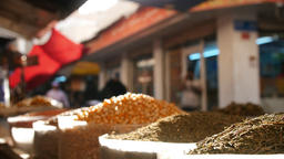 Selling Spices In Middle East