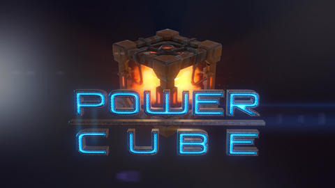 Power Cubes: Fire Cube – Hi-tech Flame Elemental Cube Opener After Effects Template