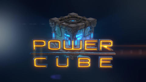Power Cubes: Ice Cube – Hi-tech Frozen Water Elemental Cube Opener After Effects Template
