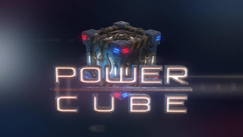 er Cubes: Police Cube – Hi-tech Futuristic Cop Car Cube Opener After Effects Template