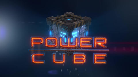 Power Cubes: Water Cube – Hi-tech Liquid Elemental Cube Opener After Effects Template