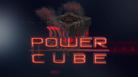 Power Cubes: Diesel Cube – Dieselpunk V6 Engine Cube Logo Opener After Effects Template