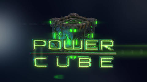 Power Cubes: Cyber Cube – Hi-tech Cyberpunk Cube Logo Opener After Effects Template