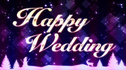 Happy Wedding CG動画