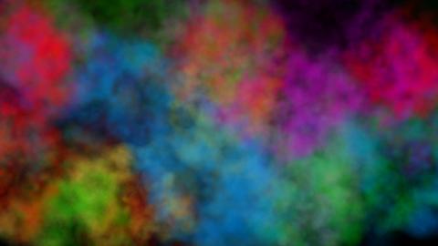 Color smoke CG動画素材