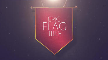 Epic Flag Title and Lower Thirds Motion Graphics Template