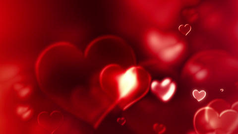 Hearts Of Glass - Love And Wedding Video Background Loop Animation