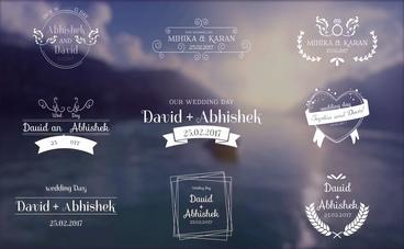 Wedding Titles - ( After Effects Template ) Already makes 43 Sales After Effectsテンプレート