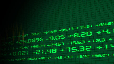 Stock Exchange Graphic Stock Video Footage