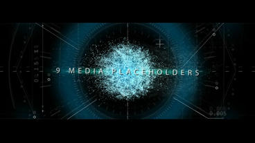 Particle Glitch - Epic Presentation (CS6) After Effects Templates