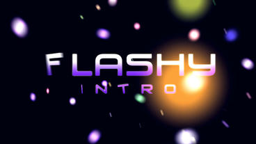 Flashy Intro - Apple Motion Plantilla de Apple Motion