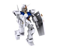 maqueta de robot โมเดล 3D