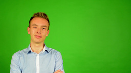 Young Man - Green Screen 1