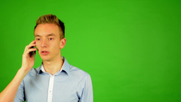 Young Man - Green Screen 2