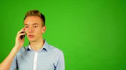 Young Man - Green Screen 2