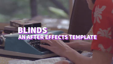 Blinds After Effects Templates