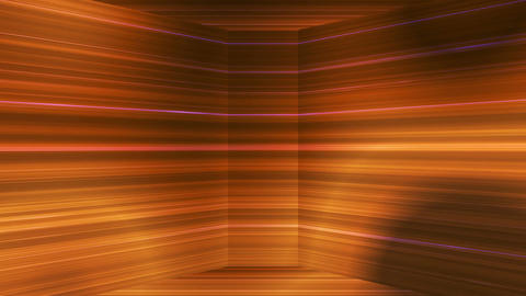 Broadcast Horizontal Hi-Tech Lines Dome, Golden, Abstract, Loopable, 4K CG動画素材