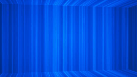 Broadcast Vertical Hi-Tech Lines Passage, Blue, Abstract, Loopable, 4K CG動画素材