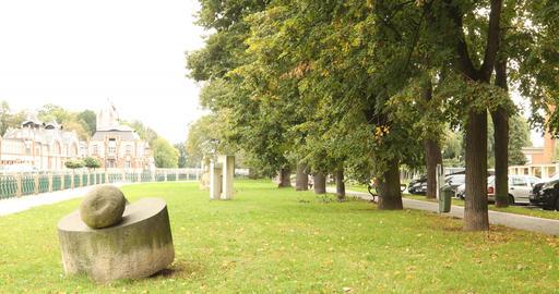 summer green park Footage