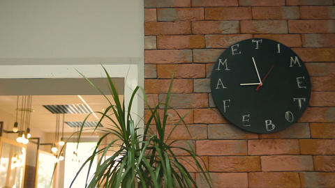 Wall clock in the Office Footage