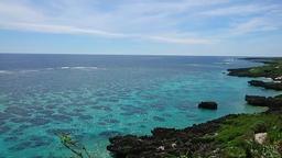 Okinawa sea ocean 海 宮古島 Footage