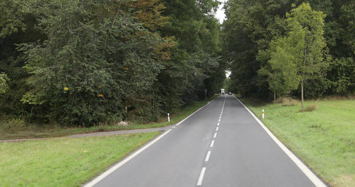Road journey Europe Footage