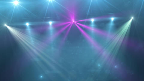 Club Light Rays Animation