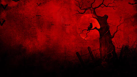 Totally Spooky Animated Background Animation