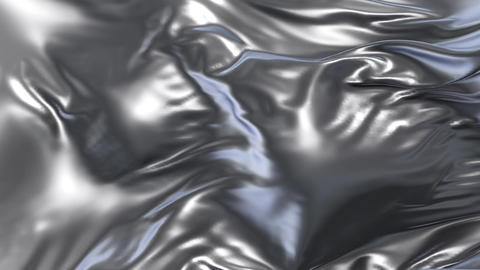 Animation of silver fabric, Stock Animation