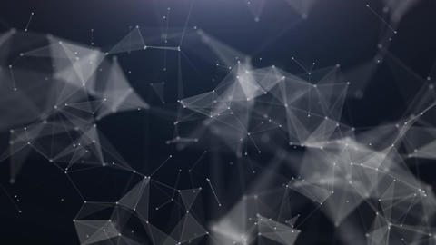 Technology abstract triangle background Animation
