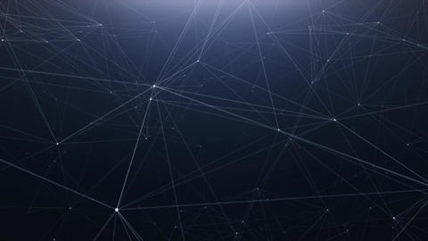 Plexus technology abstract line background Filmmaterial