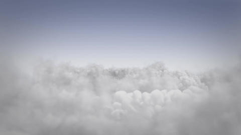 Flight above the clouds Animation