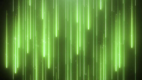 Neon green animation VJ background with shiny particles CG動画