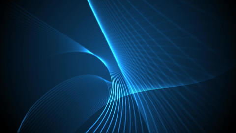 Abstract blue lines CG動画素材