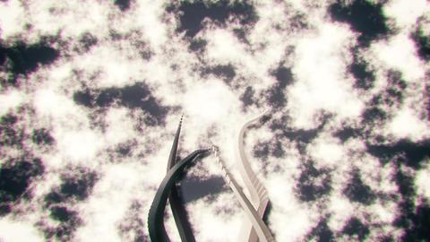 3D Abstract Wavy Streaks Stripes VJ Loop Background Backdrop V3 Animation
