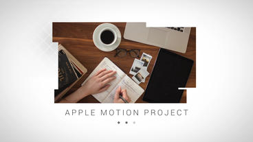 Stripes Slideshow Apple Motion Template