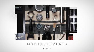 Stripes Slideshow Apple Motion Template