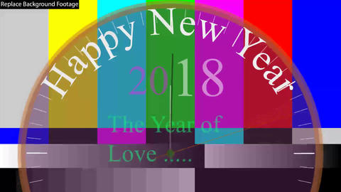 Happy New Year Countdown Timer (2018) After Effects Template