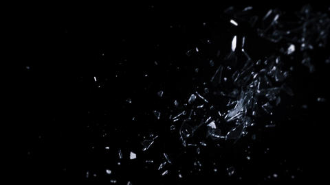 Shattering Glass In Slow-Mo - 15 Footage