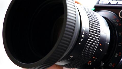 Super 8 Film Camera Footage