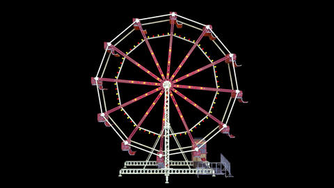 Ferris wheel Animation
